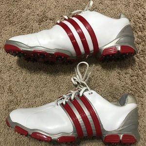 adidas Tour 360 Soft Spike Golf Shoes - Size 10